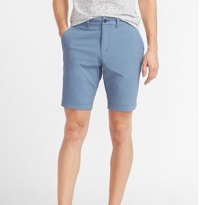 Express slim above the knee shorts